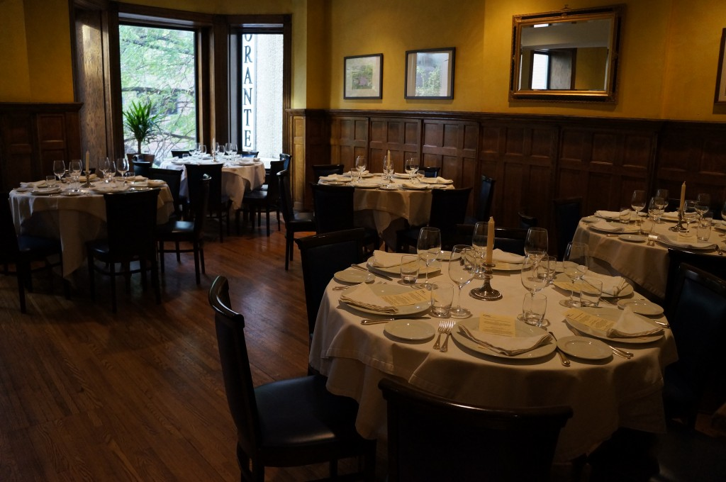 Grand Dining Room Merlo on Maple
