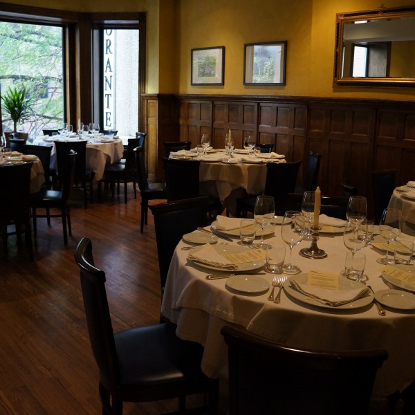 Merlo on Maple Grand dining room, Chicago private dining room
