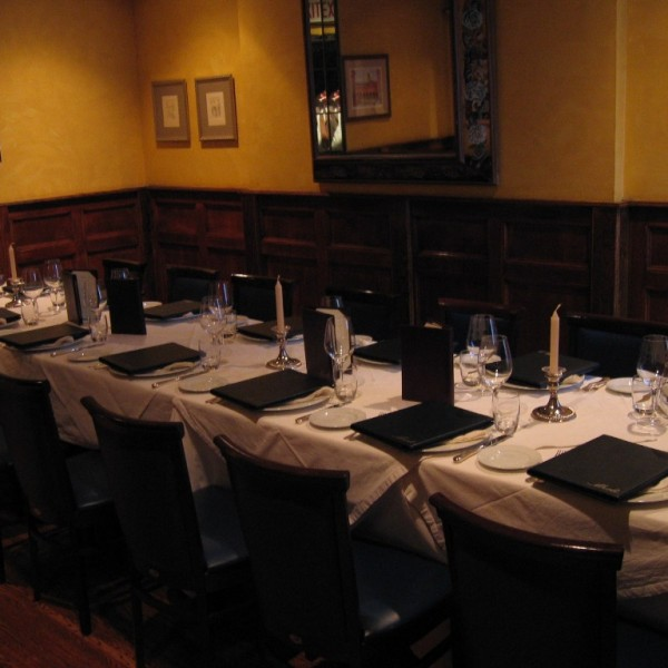 Merlo on Maple Chicago small private dining room, Chicago business meeting private room