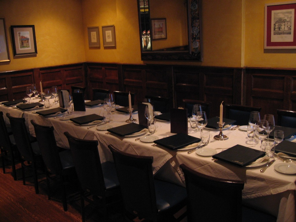 Incroyable ... Merlo On Maple Chicago Small Private Dining Room, Chicago Business  Meeting Private Room