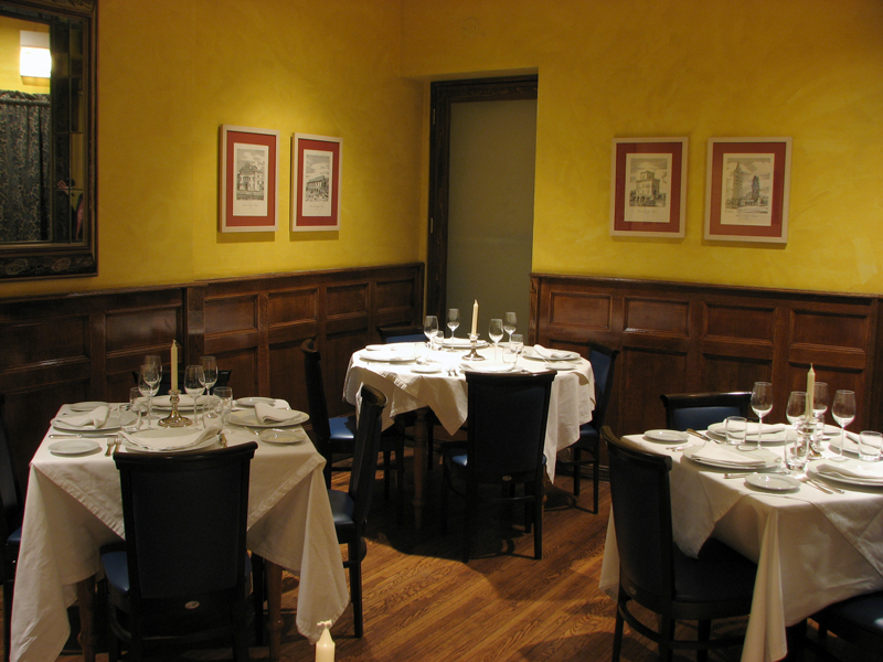 Merlo On Maple Chicago Small Private Dining Room, Chicago Private Dining  Room ...