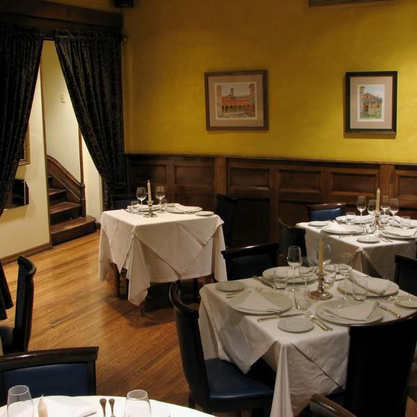 Merlo on Maple Chicago small private dining room, Chicago private dining room