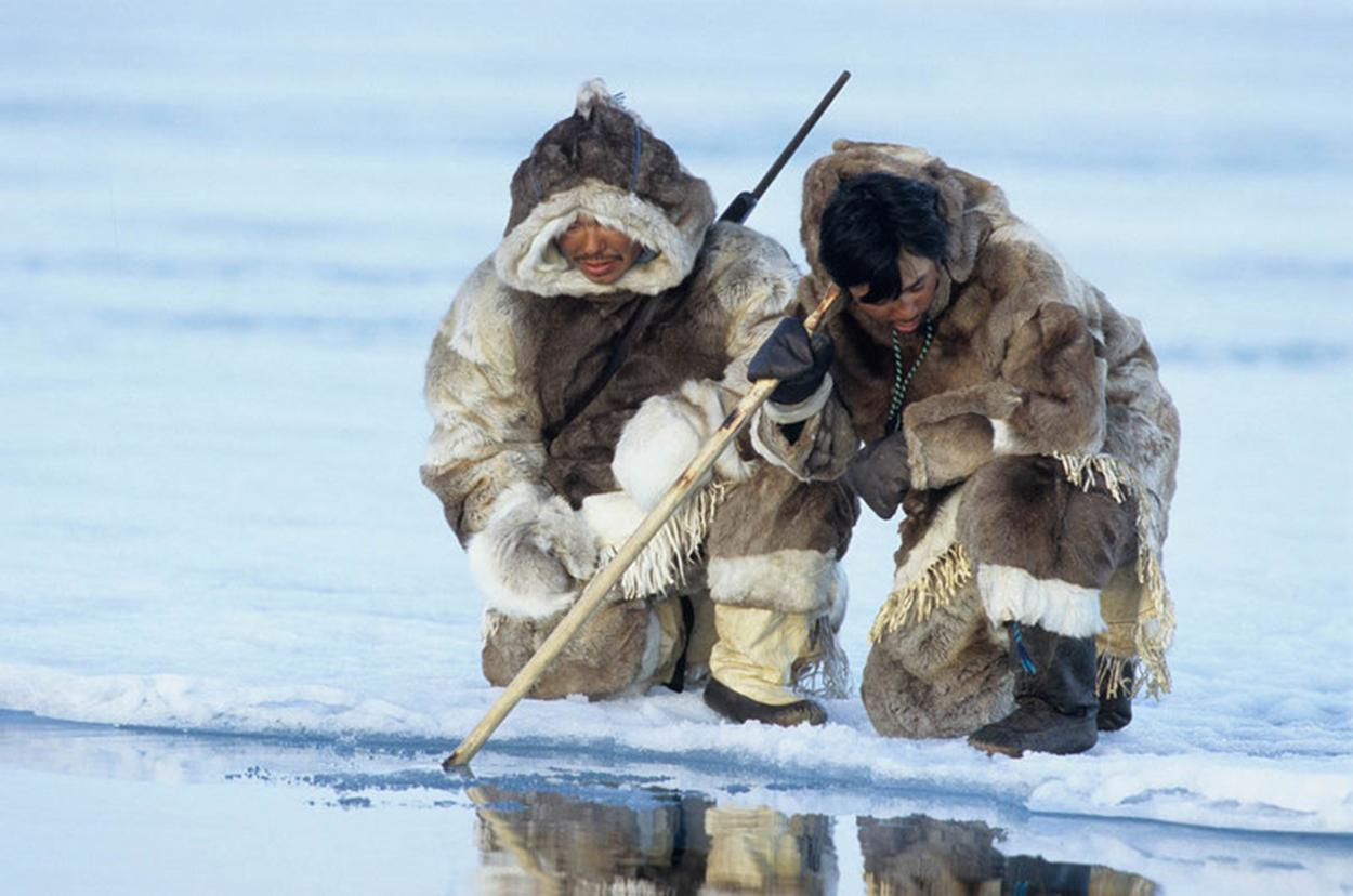 Image result for arctic inuit people